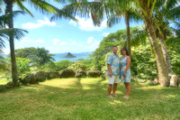 Marty and Cindy- Surprise Vow Renewal-Kualoa Ranch, HI