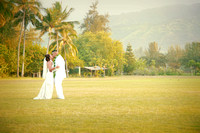 Michelle and Shelton~ Hawaii Polo Fields, North Shore, Oahu