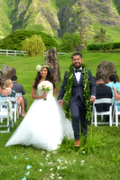 Amanda and Greg~ Kualoa Ranch Wedding