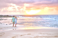 Kelsey and AJ Engagement~ North Shore, Oahu